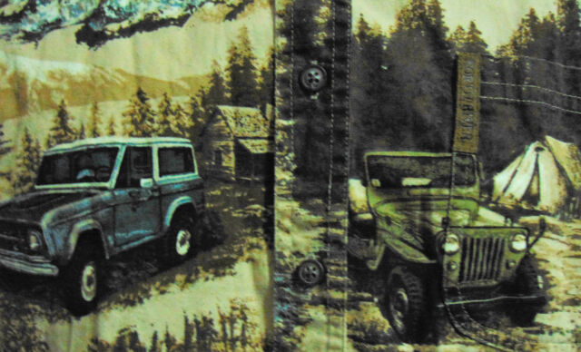 North River Outfitters Men's Vintage Truck shirt Large (14-16)