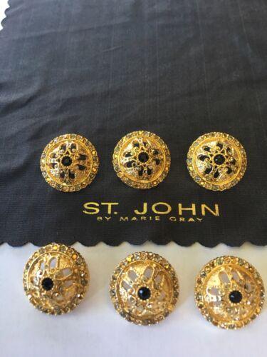 6 St John Replacement Buttons
