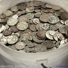 U.S.A. ALL PRE 1965 SCRAP 90% SILVER BLOWOUT SALE $5 FACE LOTS!  ✯✯ FREE S&H ✯✯