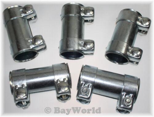 Auspuff Universal Rohrverbinder 59x63,5x125mm Doppelschelle Opel 59x125 mm 5 St