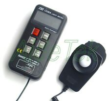 New TES TES-1336A 16000 Data log Light Meter RS232  0~20000 Lux/Fc w/ SW 0.01Lux