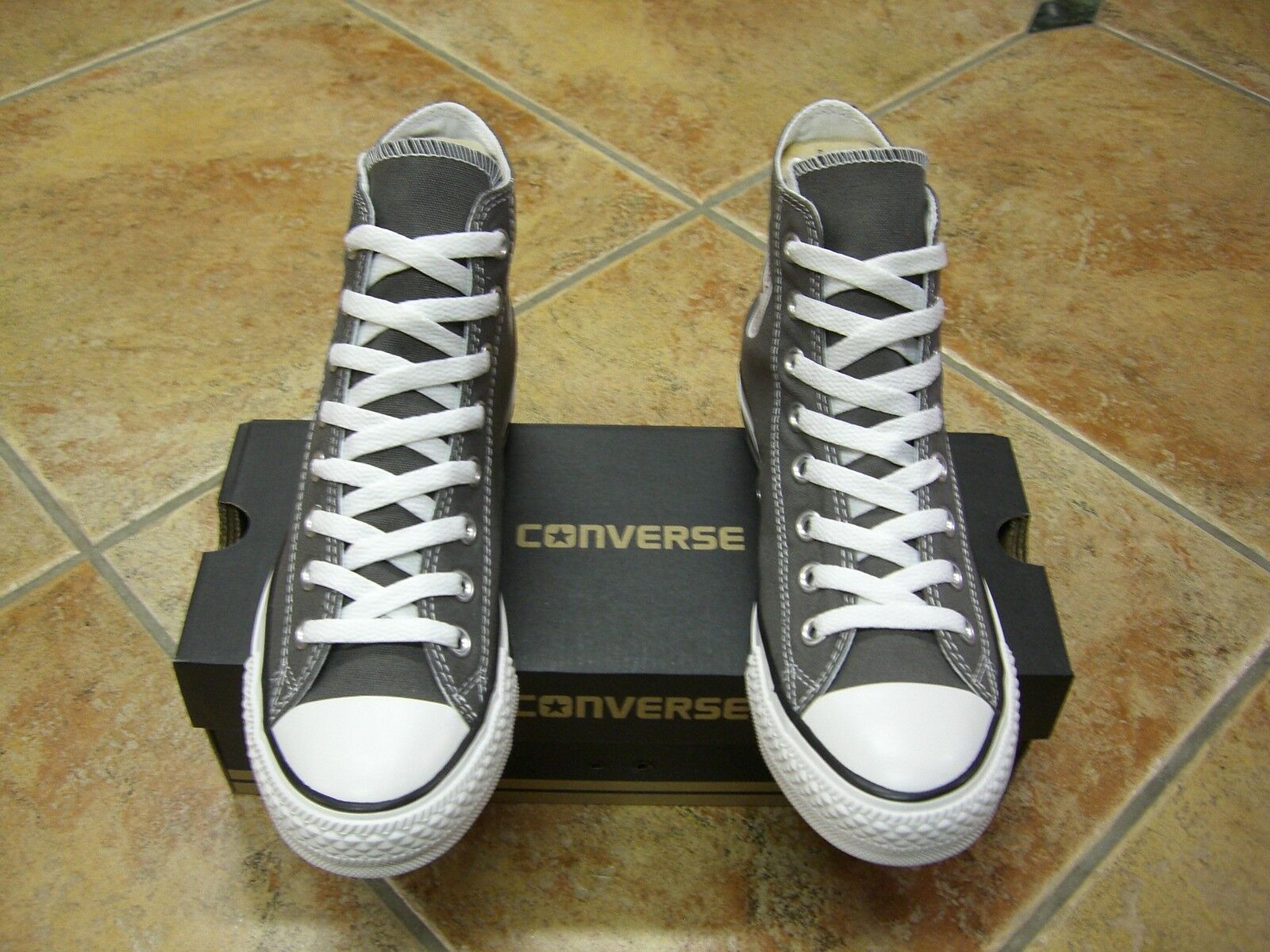Converse Chucks All Star HI Größe 44 charcoal 1J793C Neu Sneaker