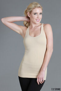 61fc0692aa26e5 Image is loading NIKIBIKI-SEAMLESS-SOFT-SUPER-STRETCHY-RIBBED-RACER-BACK-