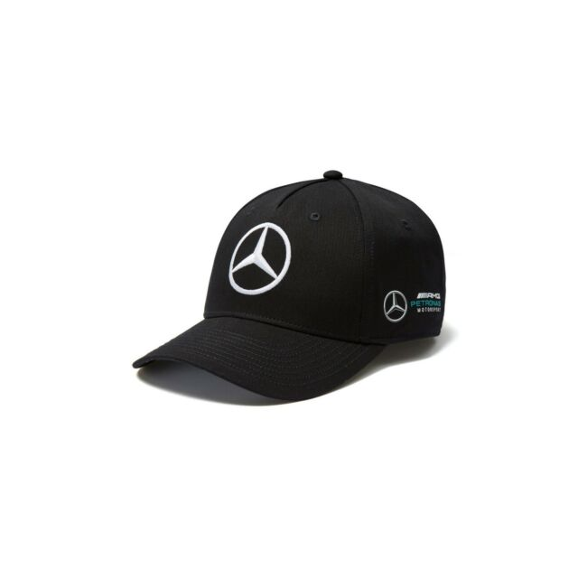 2018 OFFICIAL F1 Mercedes AMG Petronas Adults Team Baseball Cap Hat BLACK – NEW