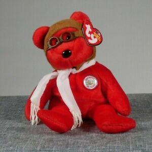 Bearon Wright Brothers Flight Bear Ty Beanie Baby 2003