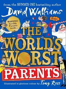 The-World-039-s-Worst-Parents-by-David-Walliams-NEW-Hardback