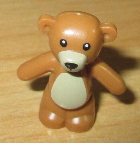 Tier in hell Braun Lego City Figur Bär Teddy