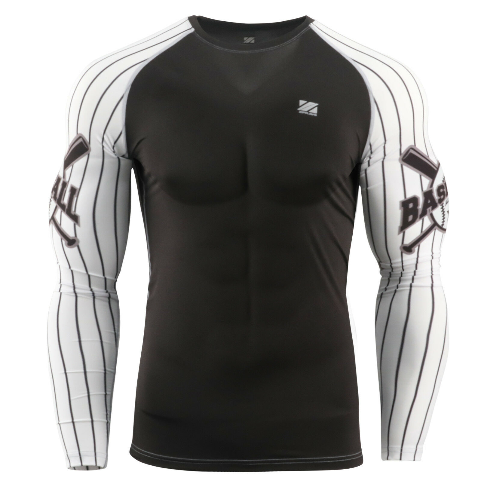 ZIPRAVS  sports compression shirts longsleeve