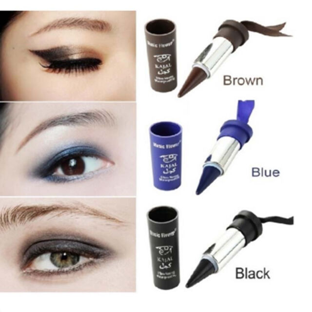 Lipstick Style Cosmetic Matte Eye Shadow Lip Liner Eyeliner Pencil MakeupPen Pop