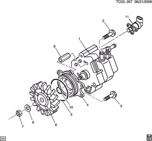 2001-2010 Chevy GMC 6.6 LB7 LLY LBZ LMM Duramax  CP3 PLATE BOLTS