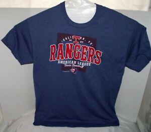 EUC-TEXAS-RANGERS-MLB-Men-039-s-Cool-T-Shirt-Tee-Baseball-Genuine-Merchandise-Sz-XL