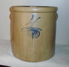 RED WING Pottery 4 Gallon Bee Sting Salt Glaze Stoneware Crock 11x11inch