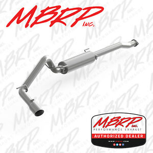 Mbrp Cat Back Exhaust System Fits 2016 2019 Toyota Tacoma 3 5l V6