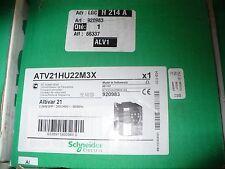 Schneider Variable Frequency Drive Atv21hu22m3x Vfd 3hp 200240v Nib