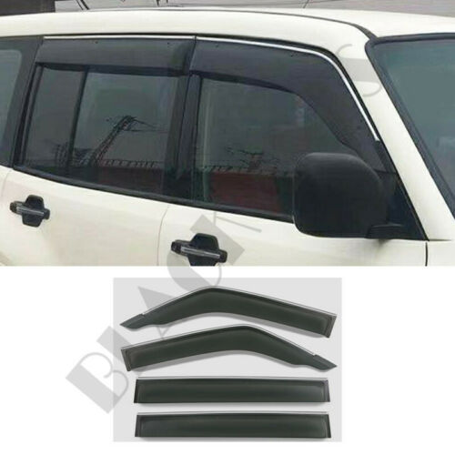 Buckle Type Visor Sun//Rain Shade Guard For 2009-18 Mitsubishi Pajero V93 97 Trim