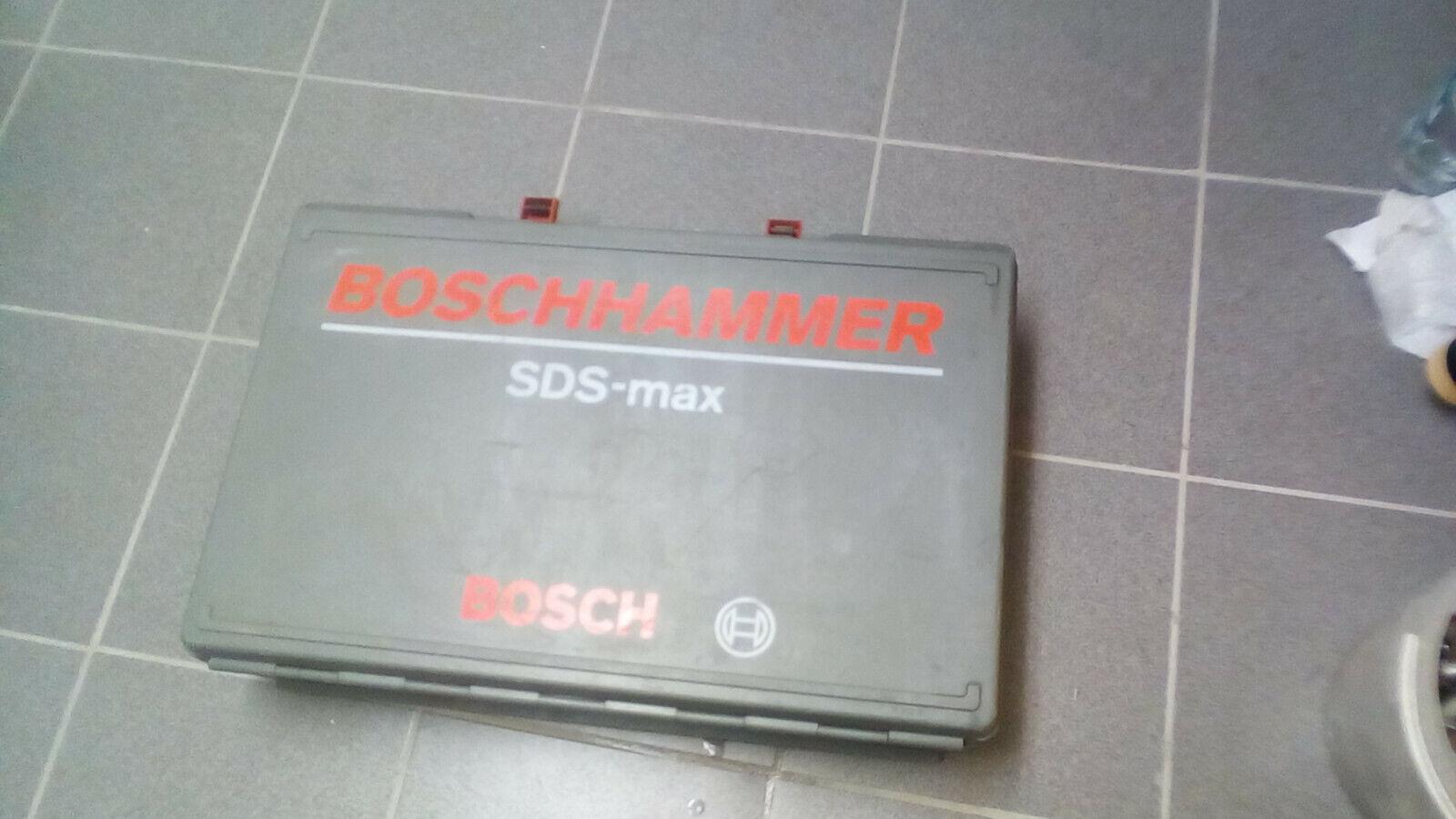 BOSCH Koffer SDS Max Bohrhammer Leerkoffer Ersatzkoffer