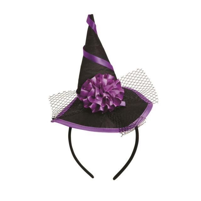 Mini Witch Hat Headband Halloween Accessory Fancy Dress