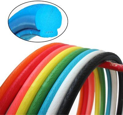 Hollow 700x23C Bike Solid Tire Mountain FixedGear Bicycle Tubeless Tyre Elastic