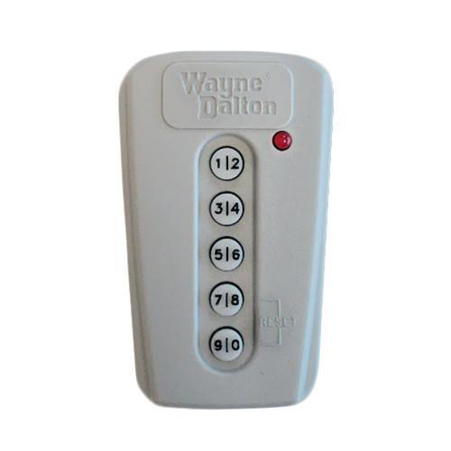 WAYNE DALTON Garage Door Openers Wireless Keyless Entry 5
