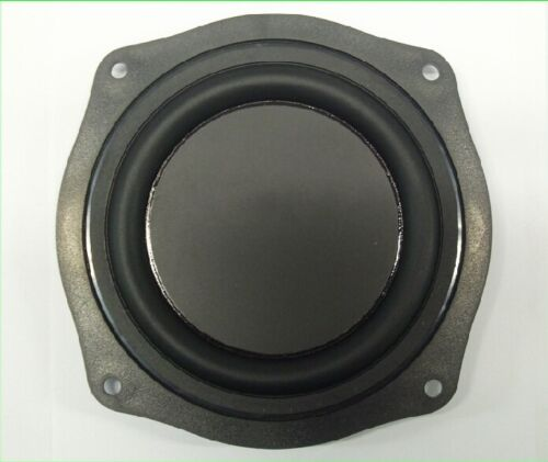 "2pcs 4/""inch Audio bass film Bass diaphragm Speaker passive board with bracket"