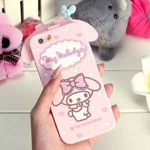 iPhone-7-Plus-Case-PINK-Melody-SOFT-rubber-case-cute-bendible-case