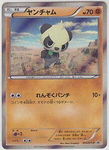 Pokemon Card XY Promo Card Pancham 015/XY-P Yveltal Half Deck Japanese