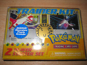 POKEMON-NEUF-INTROUVABLE-TRAINER-KIT-PACK-BOOSTER-EX-DRAGON-ABSOL-ENGLISH-RARE