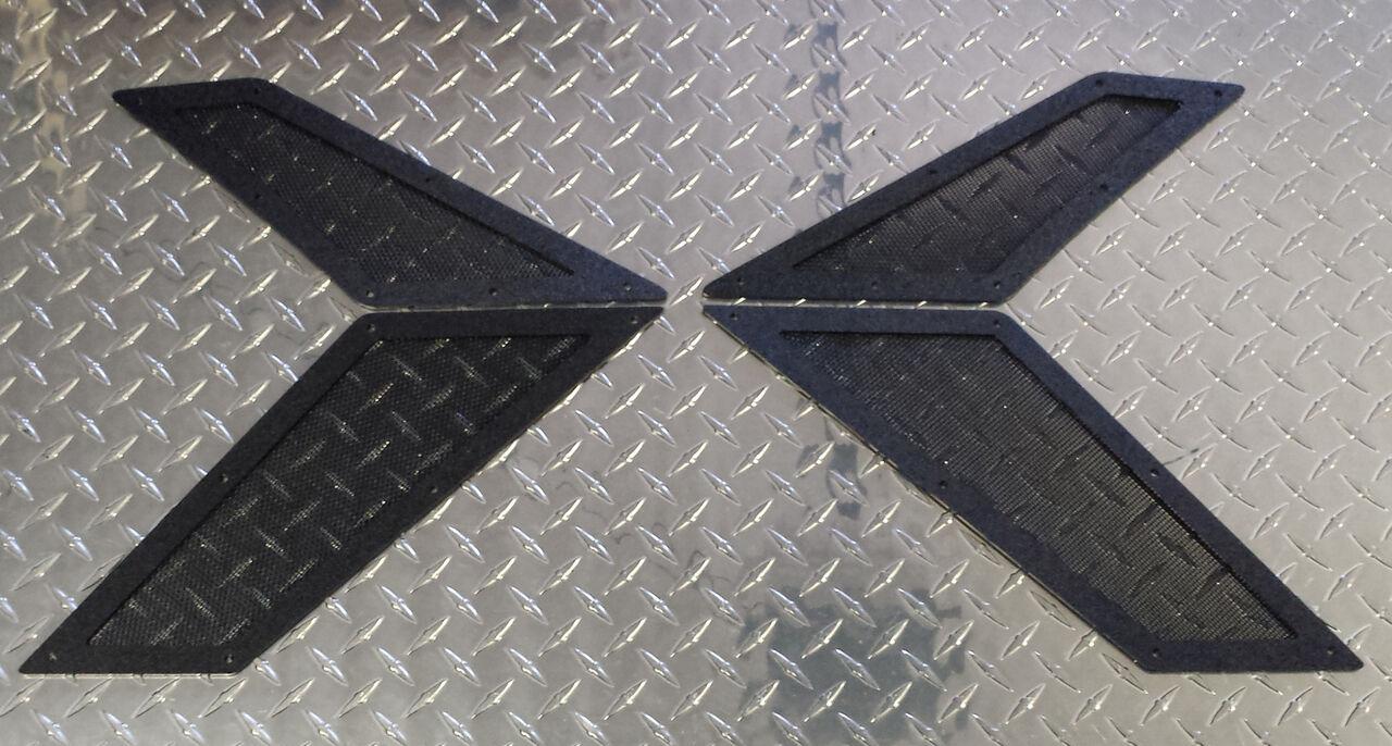 Mo-Flow Polaris AXYS 4  Piece Side Vent Kit  authentic quality