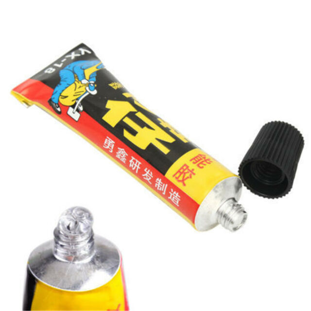 Super Adhesive Repair Glue For Leather Shoe Rubber Canvas Tube Strong Bond 18ml