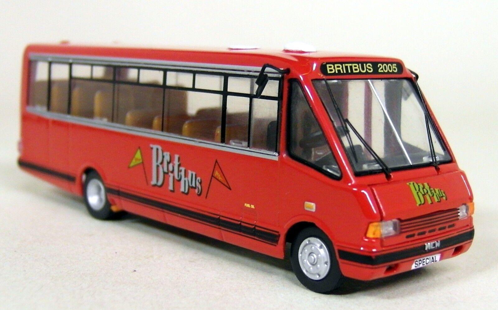 Britbus SCALA 1 76 - MRL-SB05 MCW MIDI Autobus Britbus showbus 2005 Diecast Bus