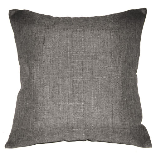Qh14a Beige Grey Thick Cotton Blend Style Cushion Cover//Pillow Case Custom Size