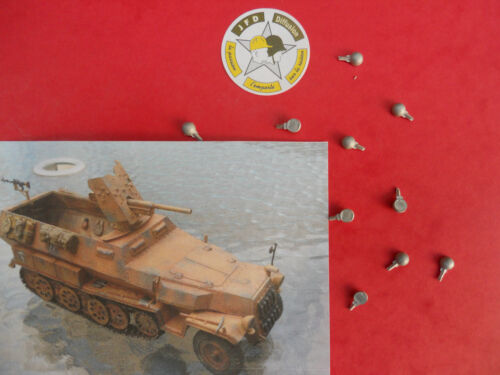 STRETTON MODELS TANK MUSEUM ACCESSOIRES 1//50 PHARES 10 SdKfz 250//251 SOLIDO