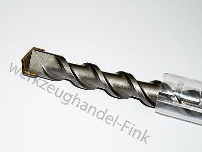 Ø10 x 460mm SDS PLUS Hammerbohrer Betonbohrer Steinbohrer Quadro-X Mauerwerk