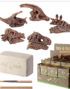 Dinosaur Fossil  FREE DELIVERY Kids Toys Fun Excavation Dig it Out Kit