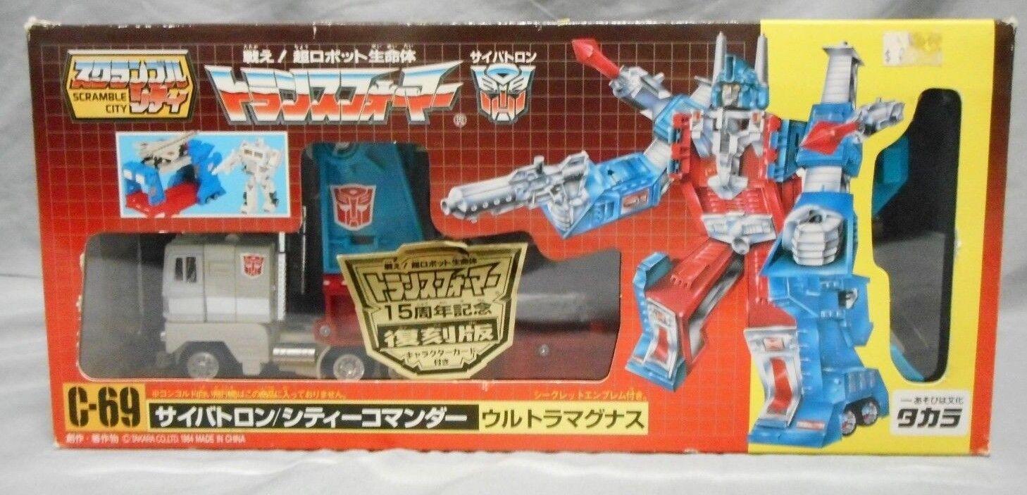 precioso TAKARA TRANSFORMERS G1 C-69 Ultra Magnus Scramble Scramble Scramble City reedición Figura De Acción  ventas al por mayor