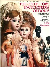 Antique Doll Encyclopedia 3,000 Photos - Types Makers Dates Marks / Scarce Book