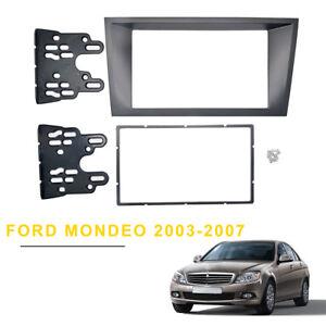 For-Ford-Mondeo-Facia-2Din-Fascia-Panel-Install-Kit-Dash-Trim-Stereo-Surround