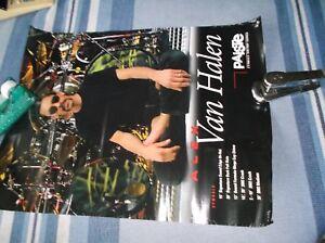 Paiste Alex Van Halen Poster 17 By 22 Ebay