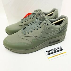 Details over NIKE AIR MAX 1 PATCH PACK STEEL GREEN KHAKI 704901 300 SP VT UK 10 US 11 OLIVE