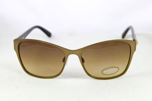 bebe Womens Knock Knock Sunglasses BB7122-210 Topaz Rectangle Brown Animal Print