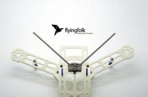 Double-Antennes-Empfanger-Socle-V3-noir-pour-Graupner-Futaba-FrSky-1-2-antennes