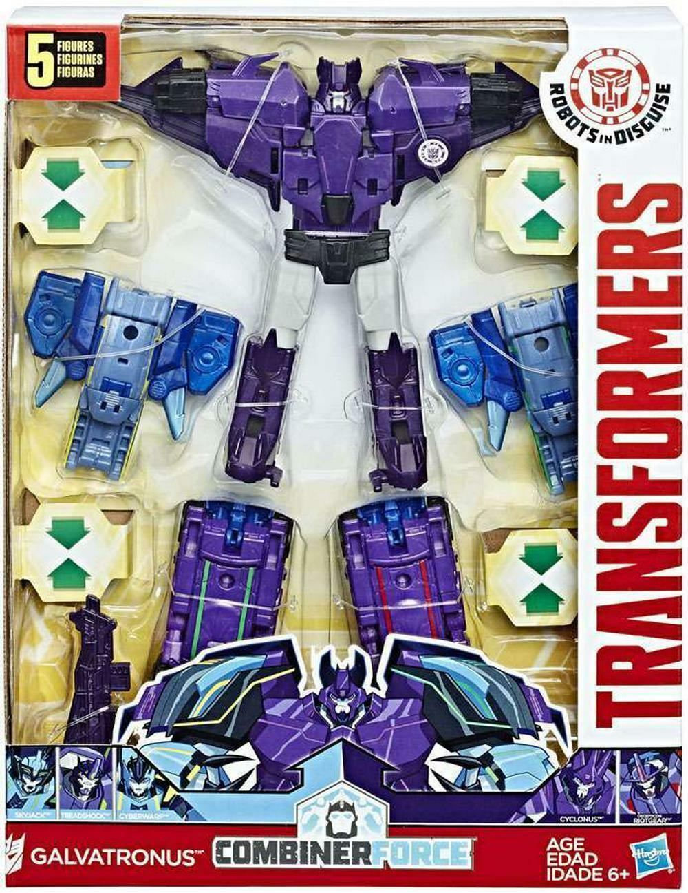Glavatronus Robots In Disguise Transformers Action Figure Combinerforce Hasbro