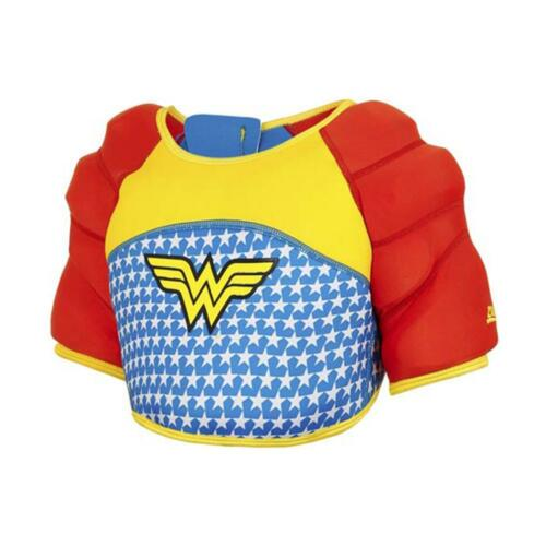 Zoggs Wonder Woman Water Wings for Confidence Building in Red Blue and Yellow