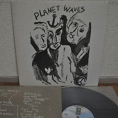 Bob Dylan Planet Waves Japan LP 1974 Warner Pioneer P-8420Y Insert