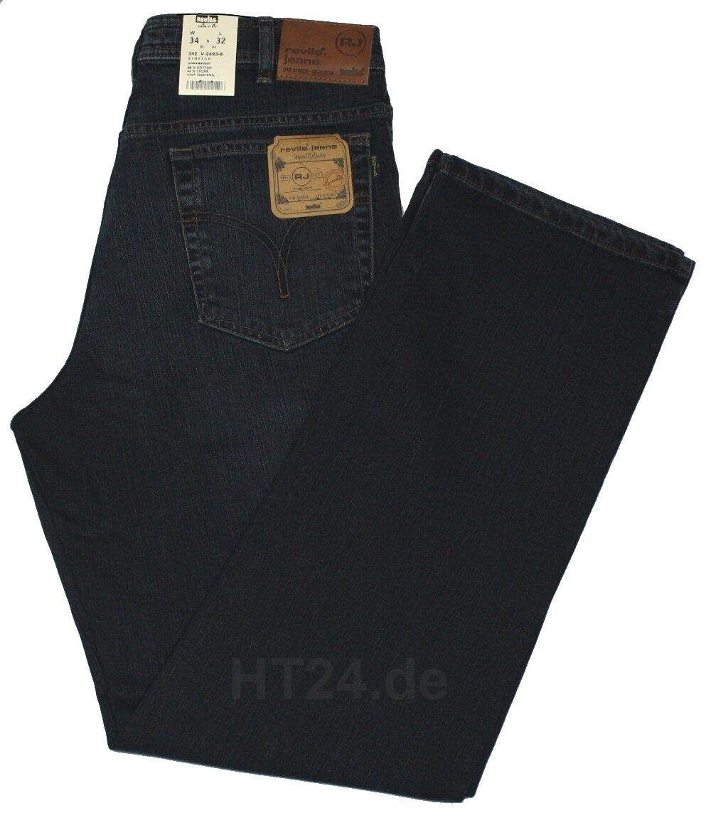 JEANS revils 342 v2493-8 Stretch blunero used w42-w48 la revils Top-JEANS