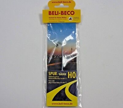 170901 Beli-beco 00 H0 Gauge 1:87 Arc Lampada Street Light 3 Volt Led Nuovo Styling Aggiornato