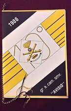 "Calendario 10° GRUPPO ARTIGLIERIA DA CAMPAGNA SEMOVENTE ""AVISIO"" (1986)    11/16"