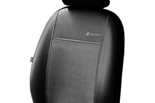 ARTIFICIAL LEATHER /& ALICANTE FRONT UNIVERSAL SEAT COVERS FITS BMW E46