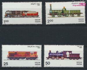 Indien-673-676-kompl-Ausg-postfrisch-1976-Lokomotiven-9137557