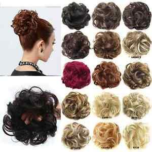 Scrunchie-Haargummi-Zopf-Haarteil-Haarverdichtung-Haarband-Zopfgummi-FARBEN